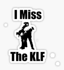 I Miss The KLF - Why Sheep Sticker