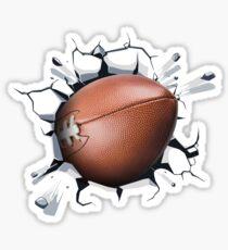 Football Breaking Records Fanatics  Sticker
