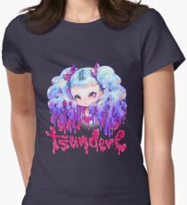 tsundere Women's Fitted T-Shirt