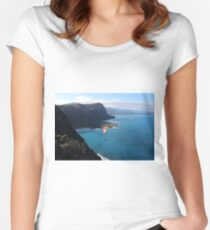 Paragliding Women's Fitted Scoop T-Shirt