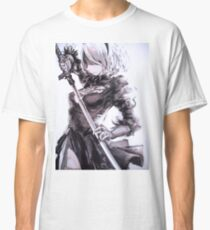 Camiseta clásica Nier Automata 2B