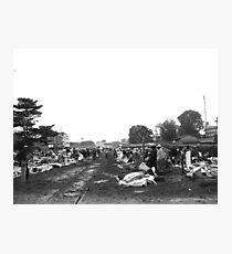 Kenyan Market Photographic Print