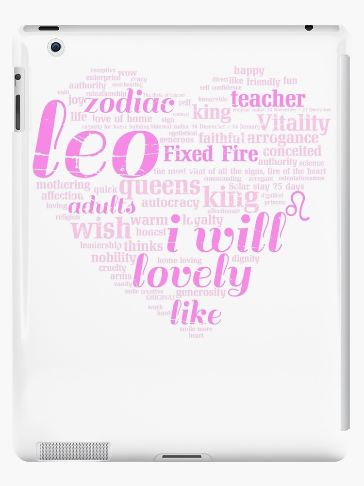 'Queen Leo i will Zodiac Sign Birthday' iPad Case/Skin by bestdesign4u