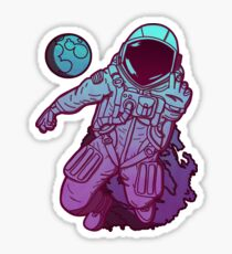 Lost in Space - neon Sticker