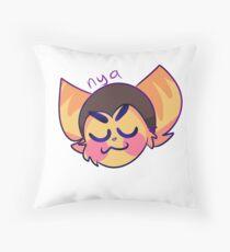 Ratchet's Nyas Throw Pillow