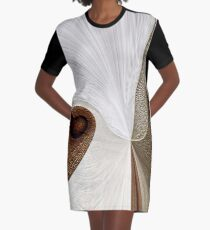 ALMOST SOMETHING Graphic T-Shirt Dress
