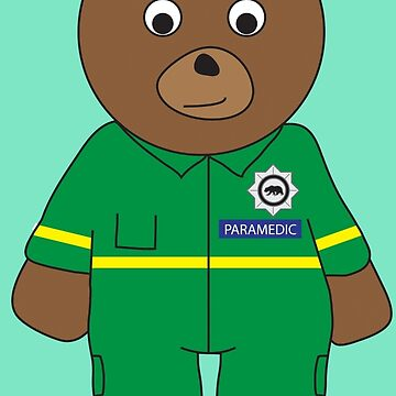 Paramedic Bear by grizzlygifts