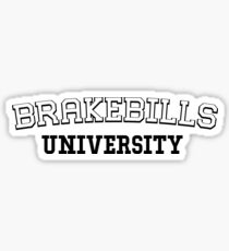 The Magicians - Brakebills University parody Sticker