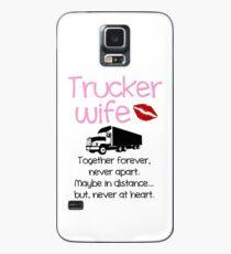 Trucker Wife - Pink Case/Skin for Samsung Galaxy