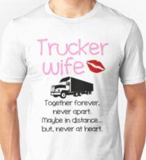 Trucker Wife - Pink Unisex T-Shirt