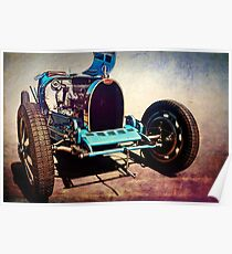 1927 Bugatti Type 35C Poster