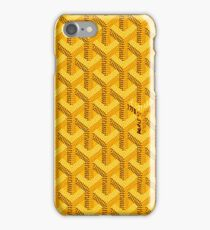 Goyard Yellow For Phone Case iPhone Case/Skin
