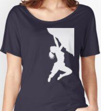 girl bouldering Women's Relaxed Fit T-Shirt