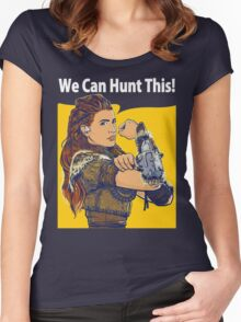 Dawn of Hunter Women's Fitted Scoop T-Shirt