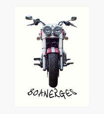 Boanerges - Triumph Thunderbird Commander Art Print