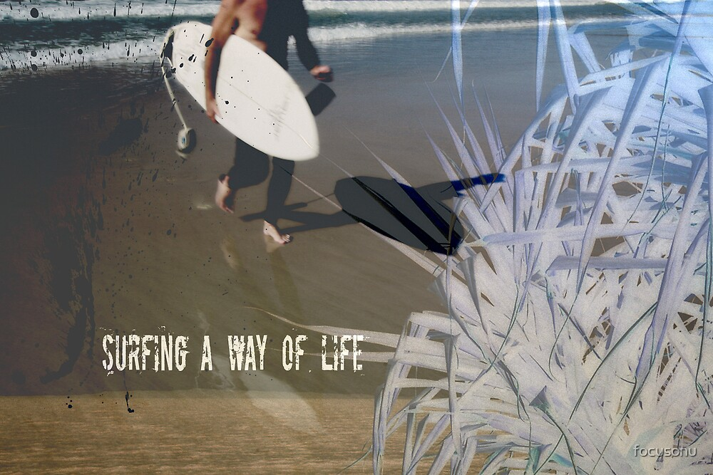 The life of a surfer by focusonu