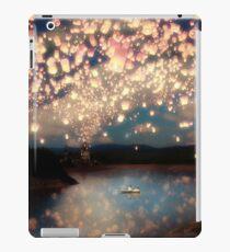 Wünsche Laternen für die Liebe iPad-Hülle & Klebefolie