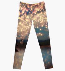 Legging Wish Lanterns for Love