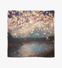 Wish Lanterns for Love Scarf