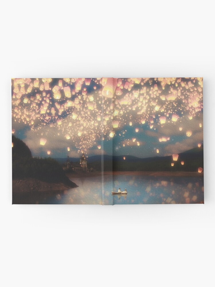 Alternate view of Wish Lanterns for Love Hardcover Journal