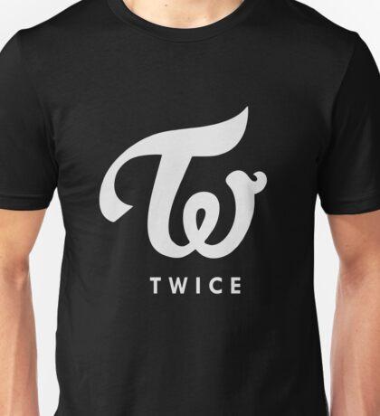 twice silver logo Unisex T-Shirt