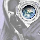 Moon's View of Earth by Lisa Hildwine