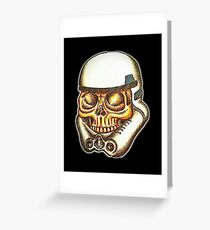 Zombie Trooper Greeting Card