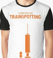 Trainspotting Film Poster Camiseta gráfica