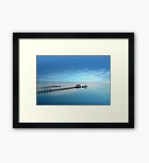 Time To Move On Framed Print
