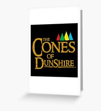 The Cones Of Dunshire Greeting Card