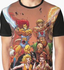 Thundercats vs HiMan Graphic T-Shirt