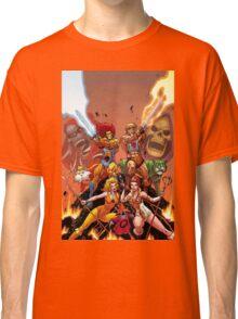 Thundercats vs HiMan Classic T-Shirt