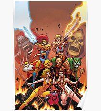Thundercats vs HiMan Poster