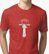 Amanita muscaria (Fly Amanita) Tri-blend T-Shirt
