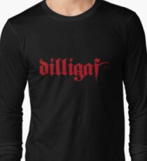 DILLIGAF - Gothic Long Sleeve T-Shirt