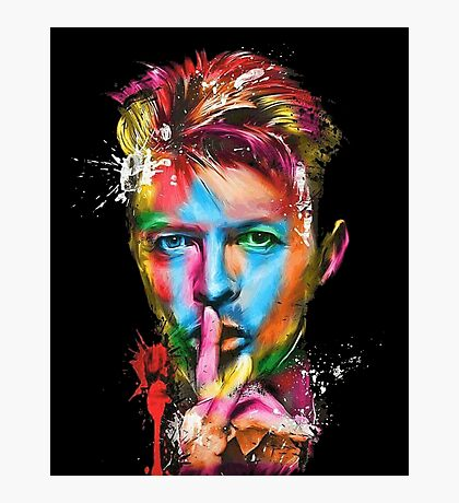 David bowie Photographic Print