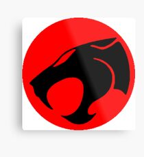 Logo Thundercats Metal Print