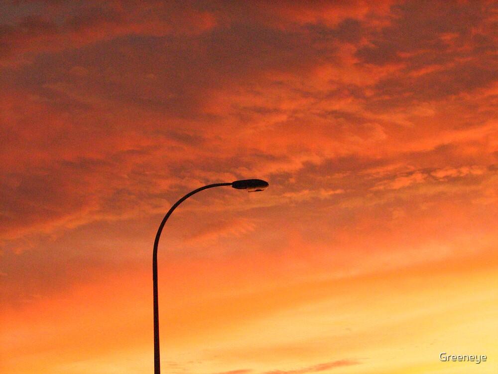 Sorrento Beach Sunset by Greeneye