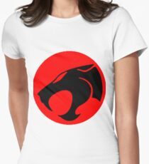Logo Thundercats Womens Fitted T-Shirt