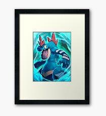 Feraligatr Pokémon Framed Print