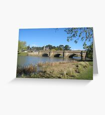 Ross Bridge Tasmania Greeting Card