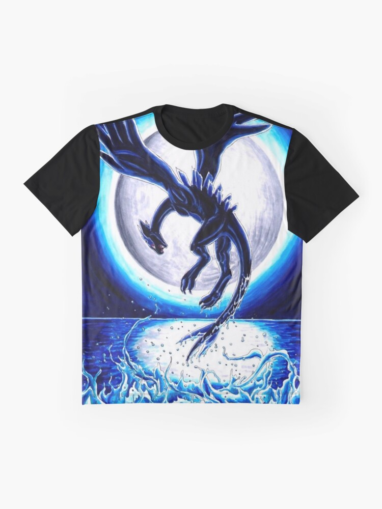 8d8f8f7e Alternate view of Lugia Dark Pokemon XD Graphic T-Shirt