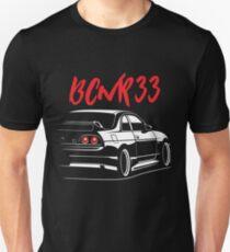 Nissan Skyline GT-R R33 Unisex T-Shirt