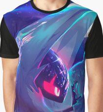 Lunala and Lillie Pokémon Moon Graphic T-Shirt