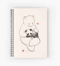 Panda Therapy Spiral Notebook
