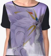 Solgaleo and Lillie Pokemon Sun Chiffon Top