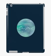 Drifter | Water | Ocean Beach Watercolor | Human Nature Print iPad Case/Skin
