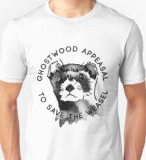 Twin Peaks Pine Weasel Stop Ghostwood Unisex T-Shirt