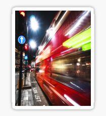 quick bus in london Sticker