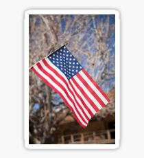 The American Flag Sticker